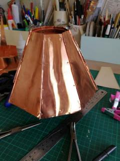 Pierce copper turret roof