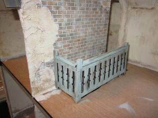Exposed Brick and Railing