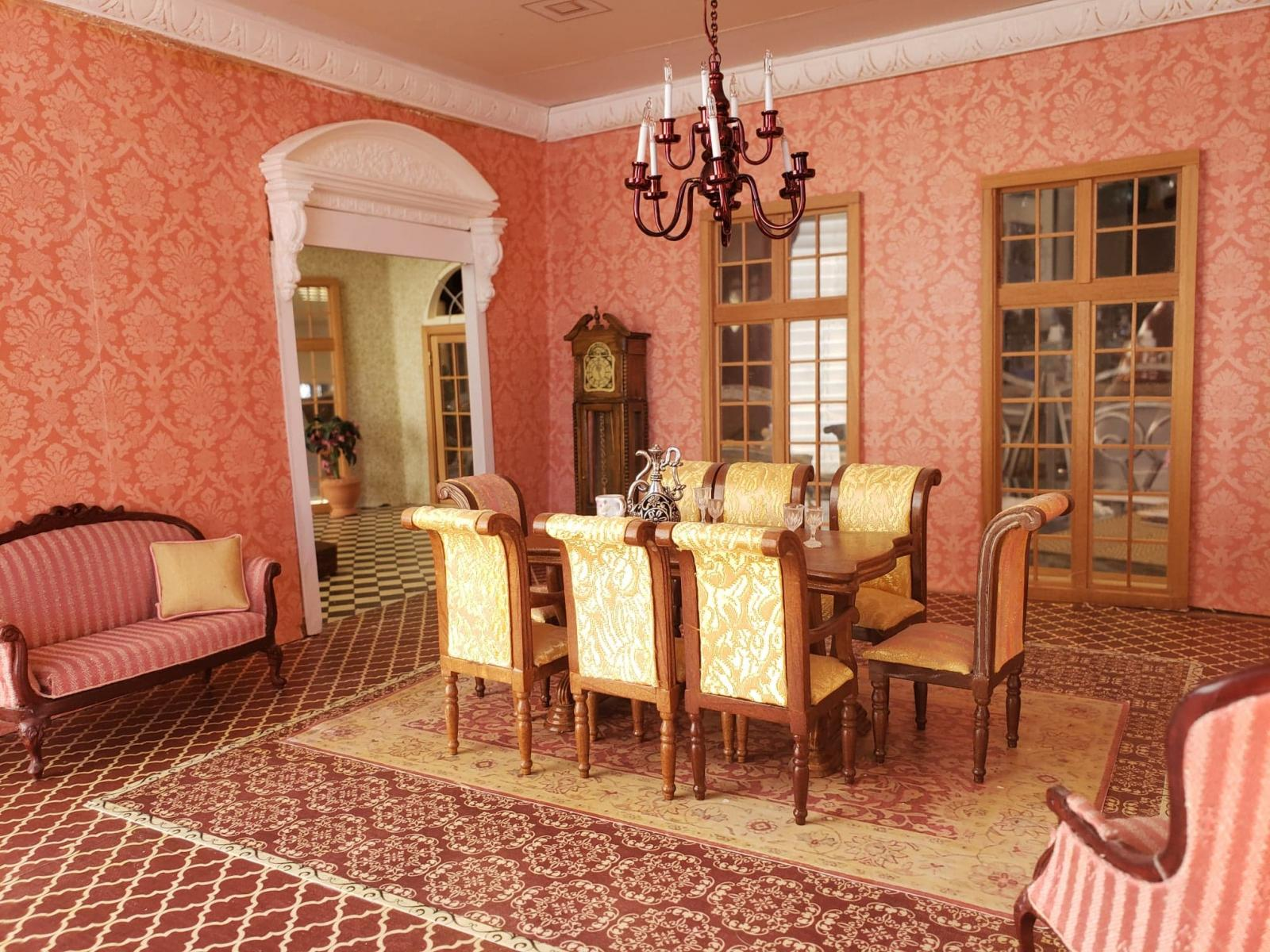 French Chateau Dining room