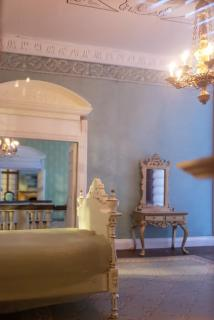 French Chateau Interiors with J Getzan Chandelier