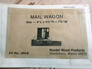 Kit photo of mail wagon