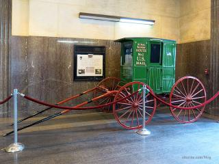 Mail Wagon in real life