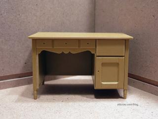 Old desk from Chrysnbon kitchen hutch kit, in progress