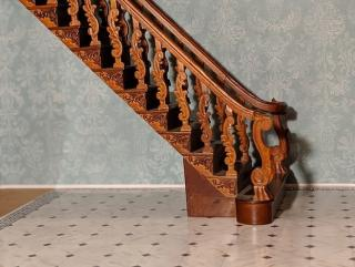 Jarrell Manor staircase