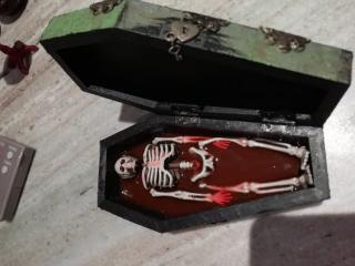 Coffin inside