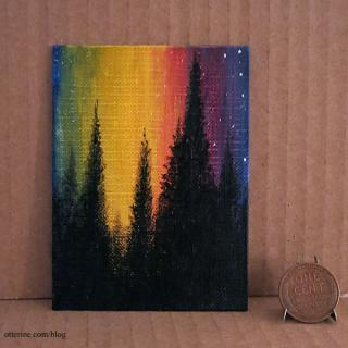 Paint Nite in miniature, 2