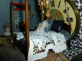 Steampunk Manor bed
