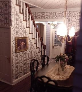 Dining room - lit view of stairs.jpg