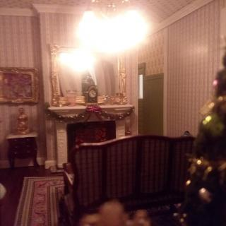 Christmas - View into Parlor 3