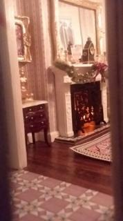 Christmas - View into Parlor 2