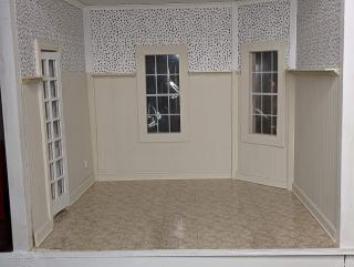 Newport laundry mudroom