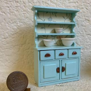Robin's egg blue hutch