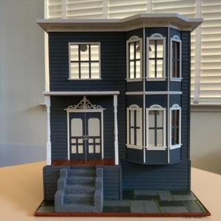 No. 1 Tennyson Place, 1:24 scale