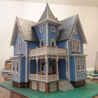 Fairfield Dollhouse - 3 Point Shot of the front.jpg