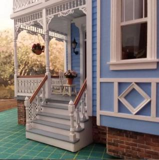Fairfield Dollhouse Front Steps Completed 2.JPG