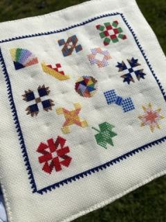 Miniature Friendship Quilt