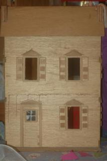 Rediscoved childhood dollhouse