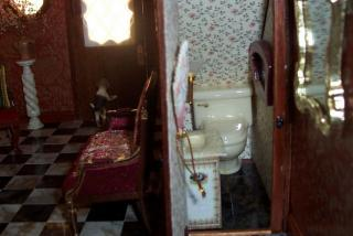 The Bathroom under the stairs