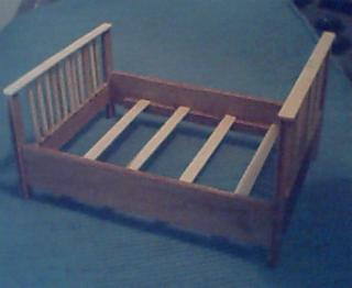 Added slats to hold mattress