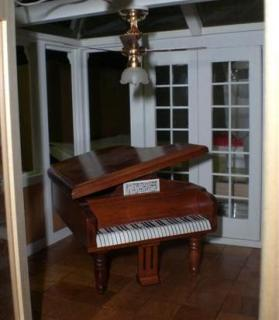 Conservatory with Baby Grand