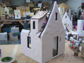 Day Three-Paperclay and Roof