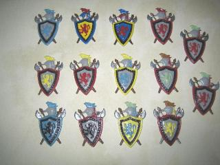 Shields/Family Crests
