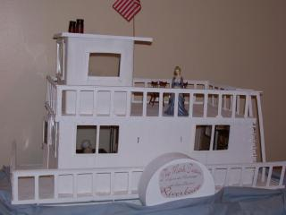 Mark Twain Riverboat--Houseboat contest