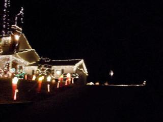 Christmas Lights of Saugus Mass.