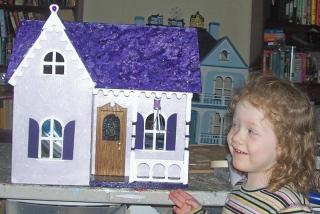 maddison with her house