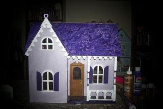 The purple Gem Cottage